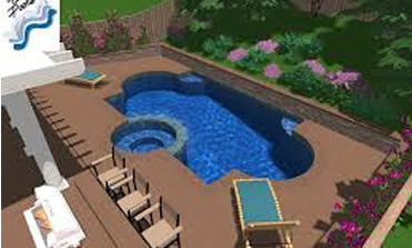 Review plans in 3D - Tallahassee Pool Builder & Repair Service - Salvo Pools